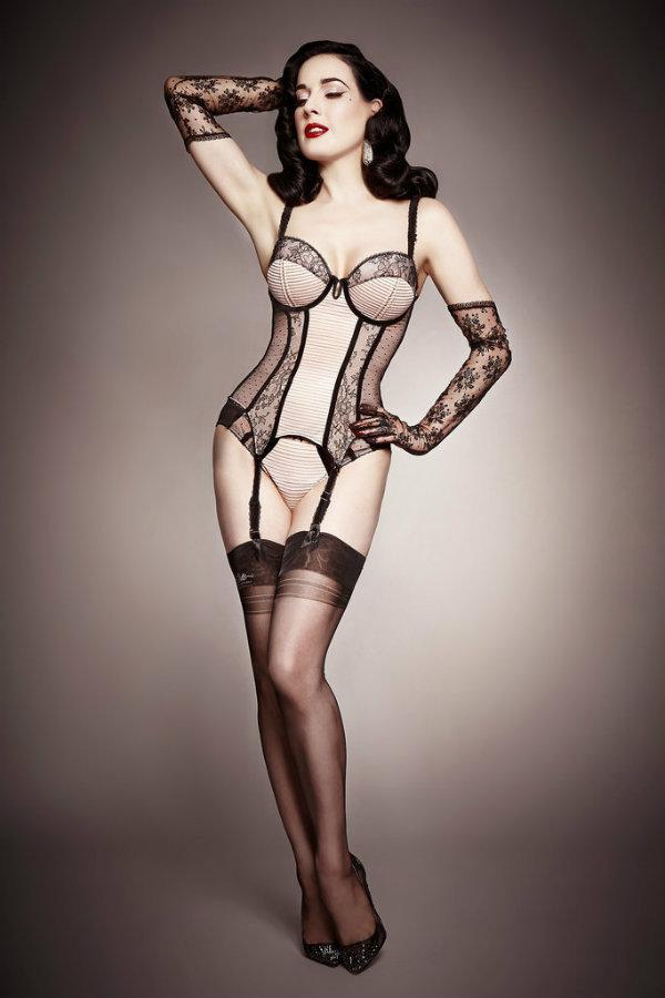 Dita Von Teese Lingerie 1 I vi možete biti ovako seksi