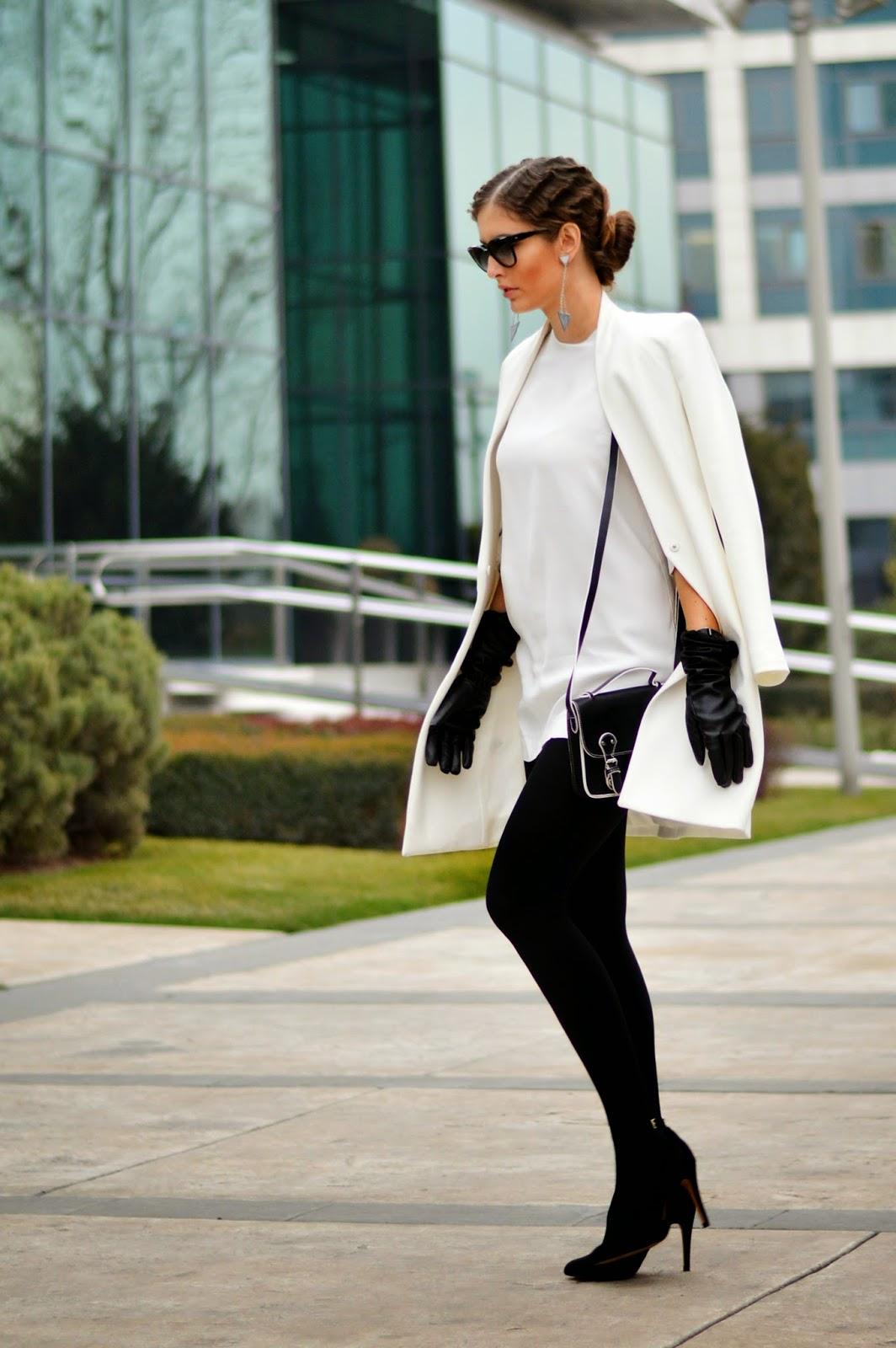 Fashionblogger streetstyle classic blackwhite Diotima 7 Modne blogerke: Najbolji modni stil nedelje