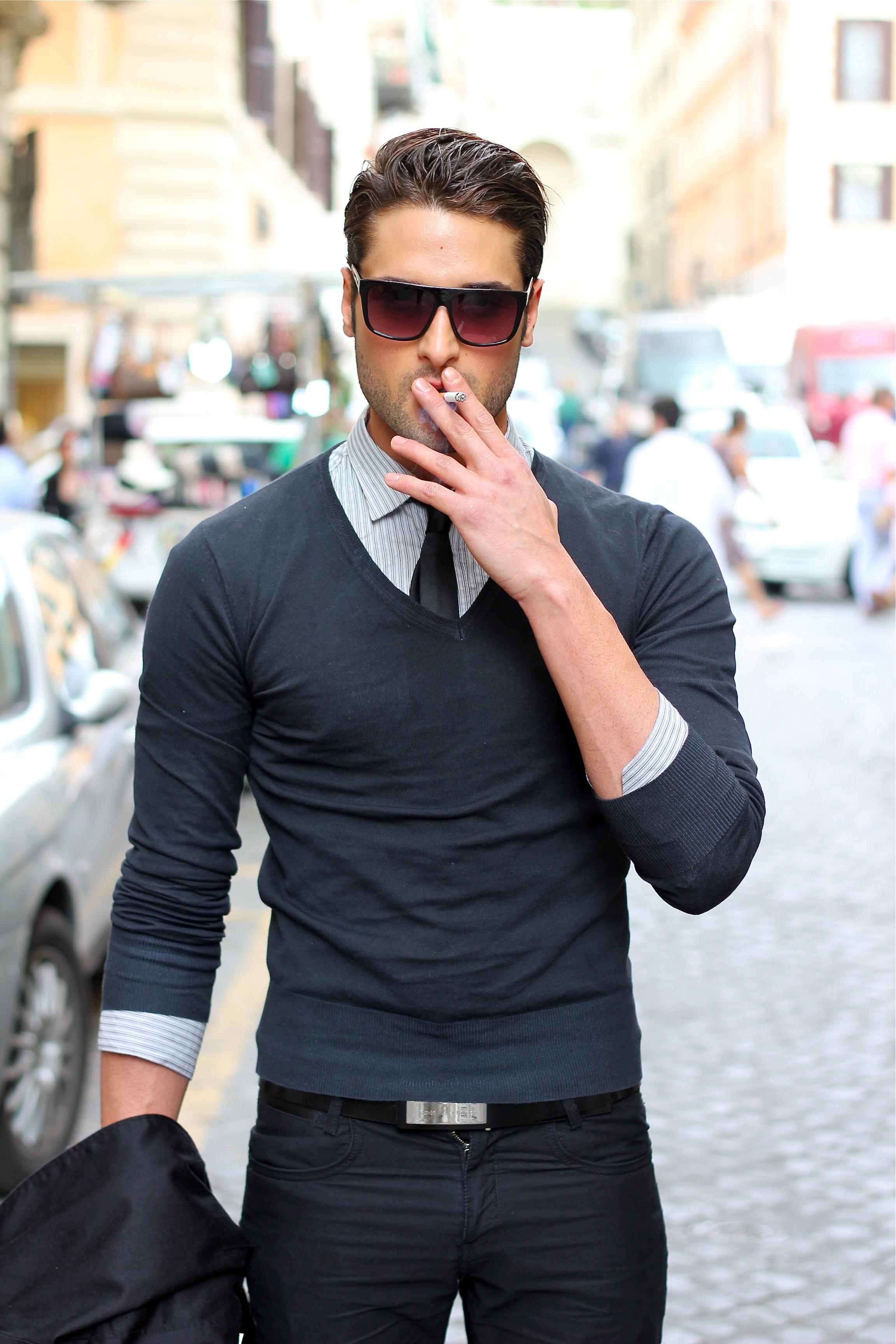 Italian men street style Što je nama lepo na muškarcu, njima je gejasto