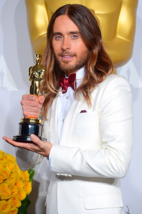 Jared Leto Oscars 2014 I Oskar odlazi u ruke...