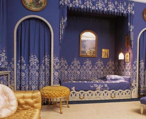 Jean Lanvin Art deco blue room Dva veka, deset modnih kodova, jedno ime: Lanvin! (2. deo)