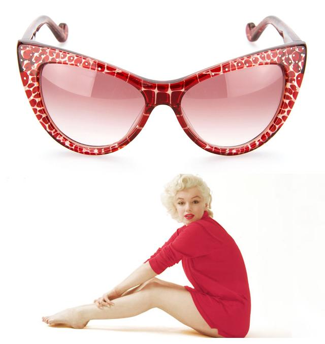 Marilynnaocale3 Merilin Monro i kolekcija naočari