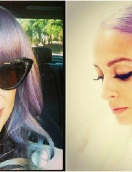 Ljubičasta boja kose je novi trend