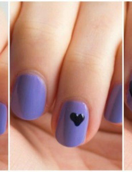 Nail art: Srca na noktima