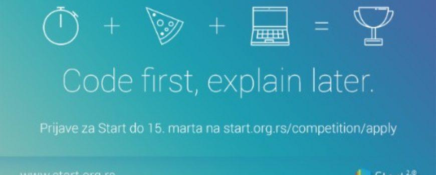 Prijave za Start 2.0 hakaton otvorene su do 15. marta