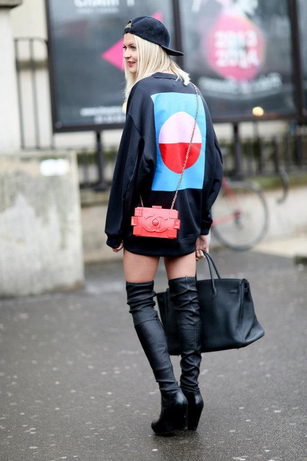 PFW Street Style Day Six 4 Kako izgledaju posetioci Nedelje mode u Parizu