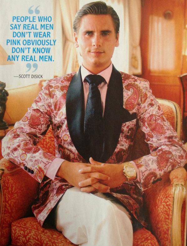 Pink men man real style fashion jacket Da li si dovoljno muževan da bi nosio roze