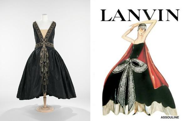Robe de style 1926 Dva veka, deset modnih kodova, jedno ime: Lanvin! (2. deo)