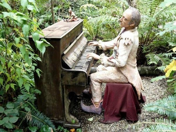 Skulpture  Bruno Torfs 5  Brunova čarobna bašta