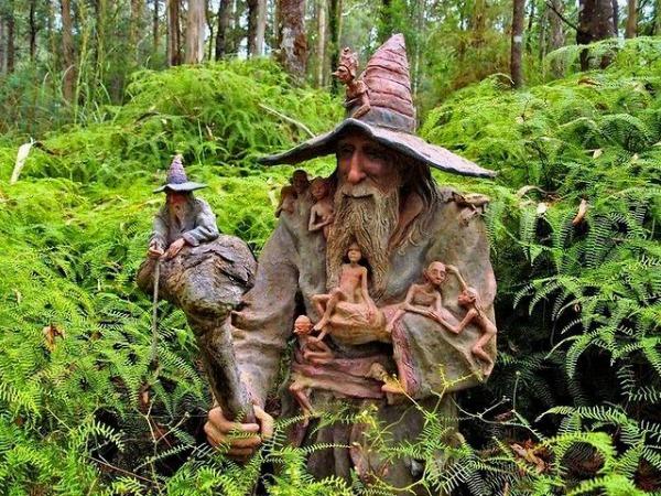 Skulpture Bruno Torfs  1  Brunova čarobna bašta
