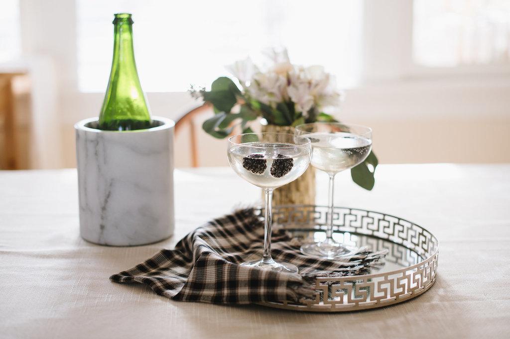 Small touches like wine cooler 30 tray entertaining Ketlin Moran: Stan jedne urednice