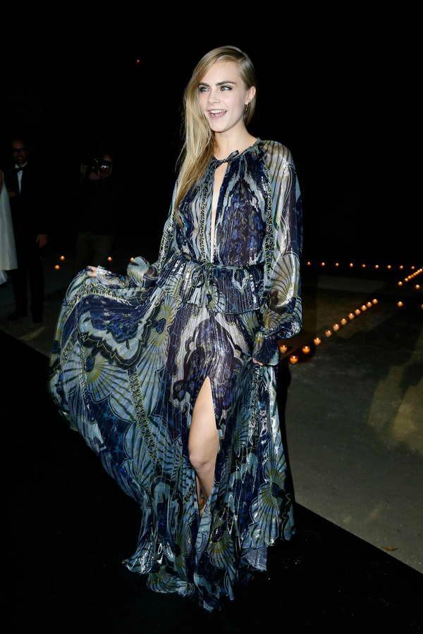 Svileno i lezerno 10 haljina: Kara Delevinj