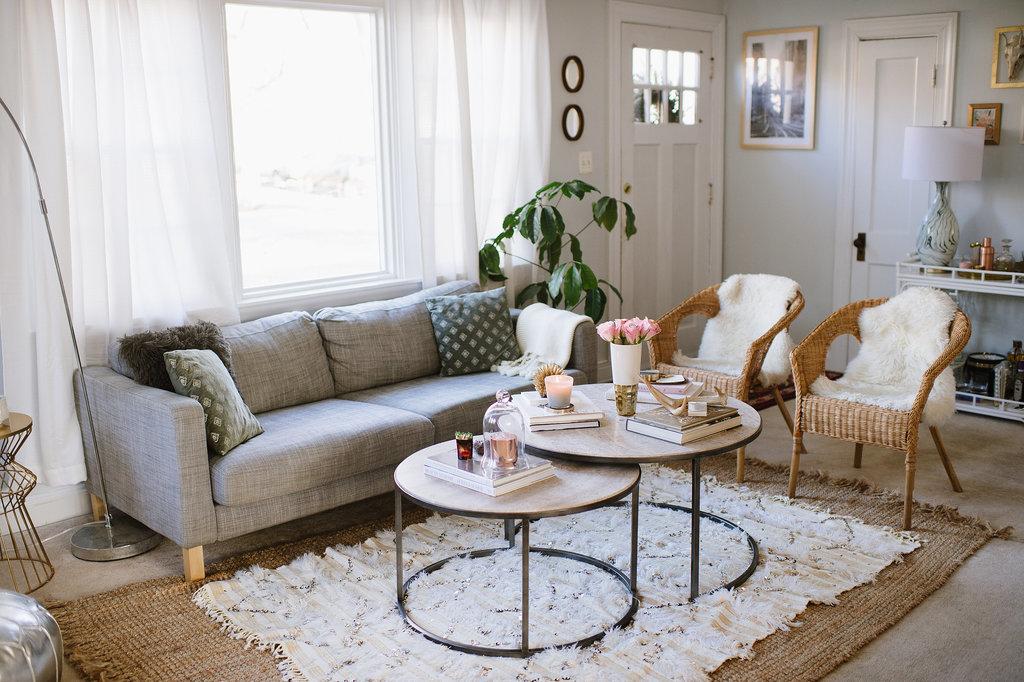 Throughout her home Caitlin chose neutral color palette Ketlin Moran: Stan jedne urednice