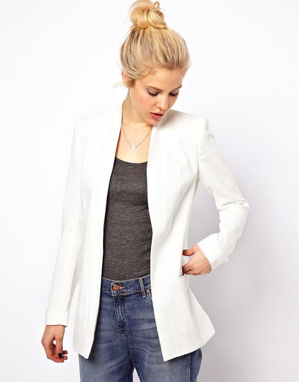 White Blazer Stvari koje ove godine morate imati u garderoberu