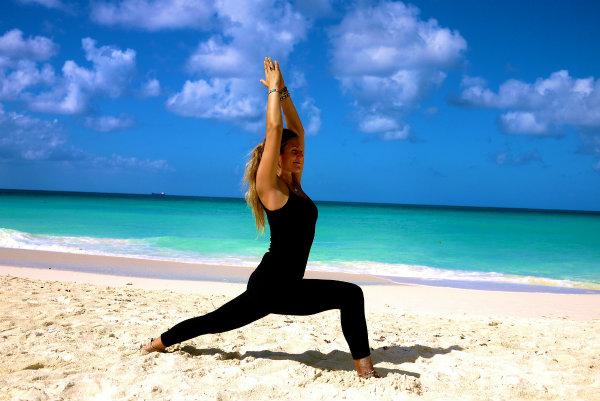 Yoga Warrior Pose 2 Joga za početnike