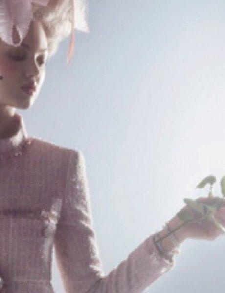 "Karl Lagerfeld i Lindzi Vikson za ""Harper's Bazaar"""