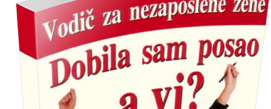 Darujemo povodom 8. marta: Priručnik za nezaposlene žene