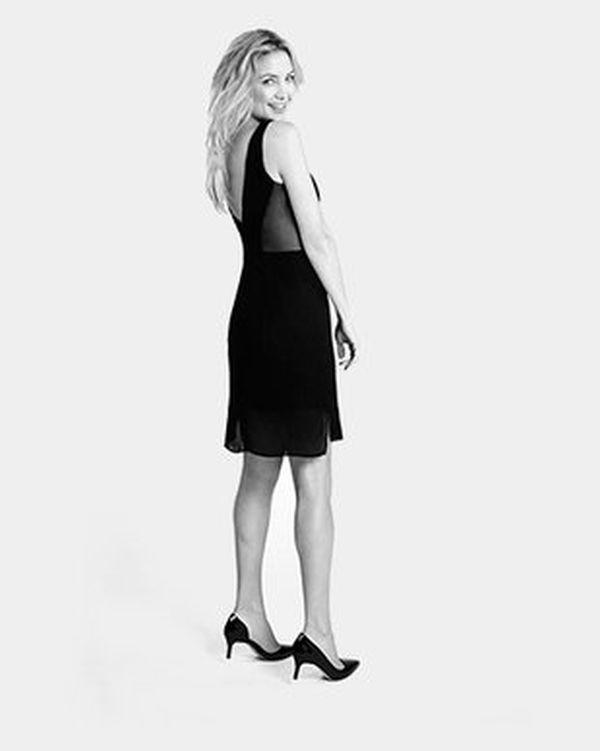 embedded Kate Hudson Ann Taylor Dress 2014 Lansirana kolekcija malih crnih haljina Kejt Hadson