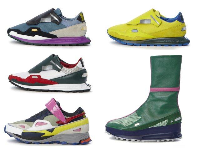 embedded raf simons adidas sneakers 2014 Raf Simons i Adidas: Šarena saradnja