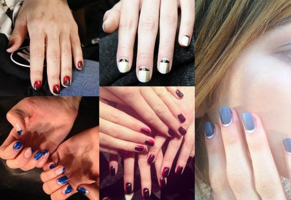 embedded simple nail art fall 2014 Ovakav manikir morate imati