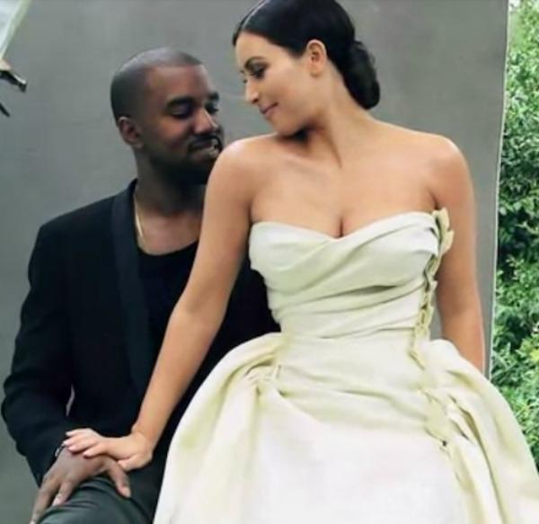 kim kardashian kanye west vogue north west 10 1 Ana Vintur konačno slikala Kim Kardašijan za naslovnicu magazina Vogue