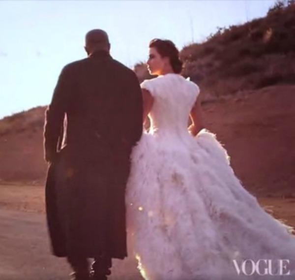 kim kardashian kanye west vogue north west 2 Ana Vintur konačno slikala Kim Kardašijan za naslovnicu magazina Vogue