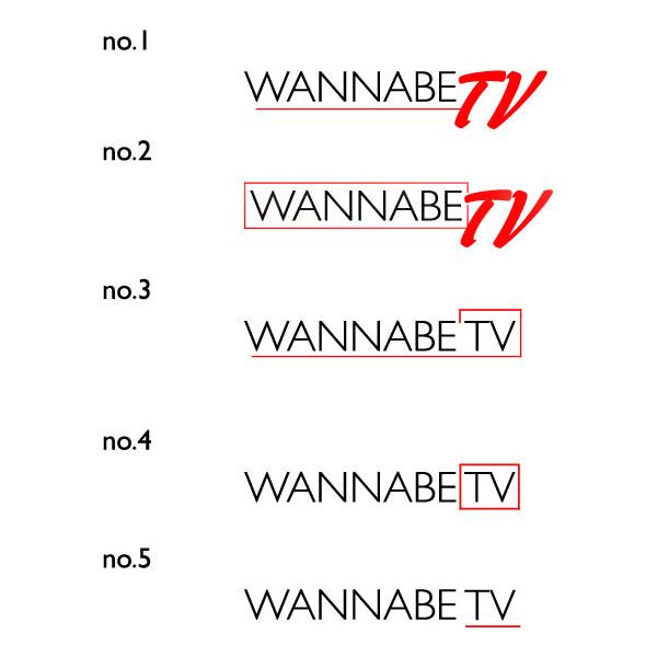 logo izbor 1 Izaberi sa nama logo za Wannabe TV!