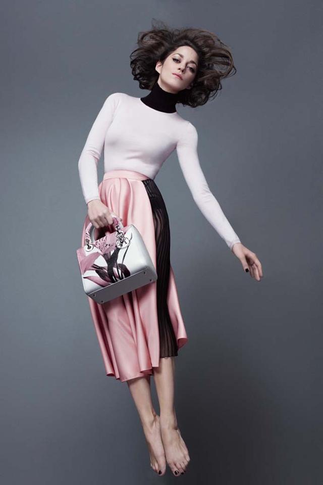 marioncotillard2 Ona je istinska Dior inspiracija