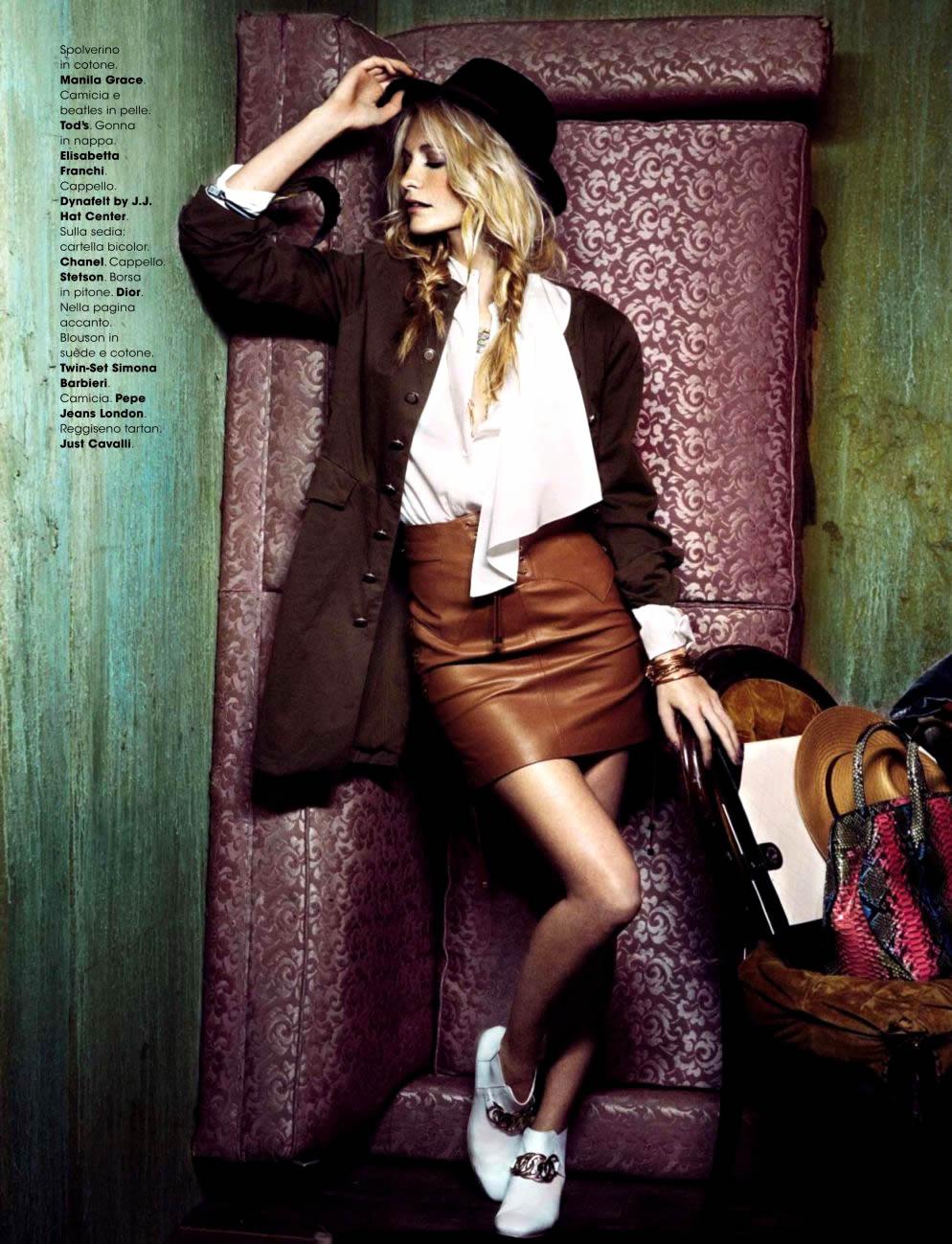poppy delevingne glamour italia 6 Glamour Italia: Popi kao moderna kaubojka