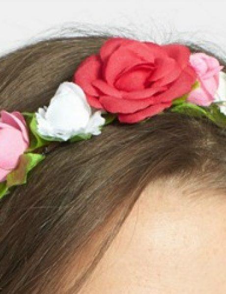 Prolećni trend: Cvetne trake za kosu