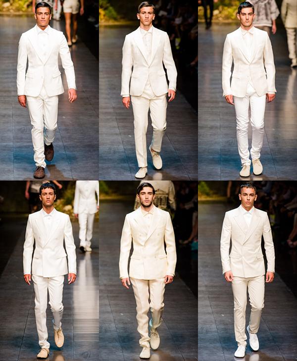 whiteall2 Muška moda: Belo na belo
