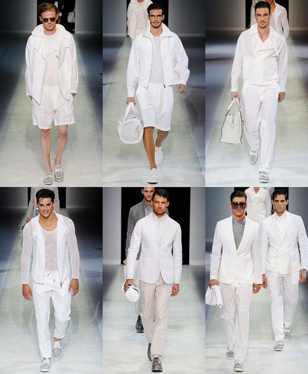 whiteall4 Muška moda: Belo na belo