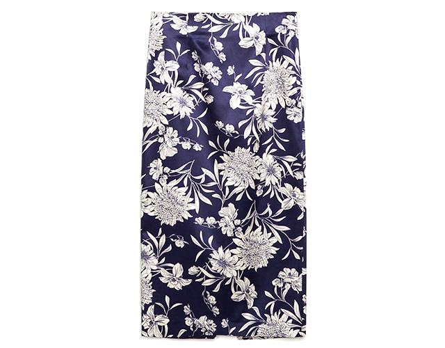 1 zara Novi trend: Pencil suknja sa printom