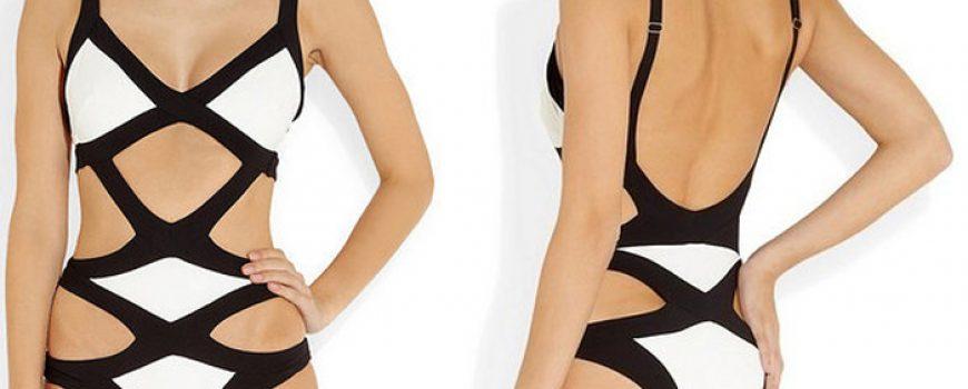 Modiramo se: Obuci ovakav kupaći i izgledaj k'o zebra