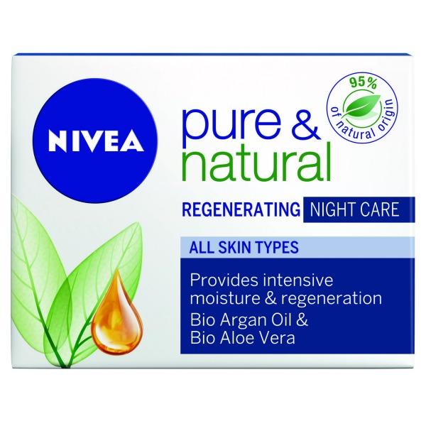 114 Nivea Pure & Natural: Prirodna nega kože lica tokom dana i noći