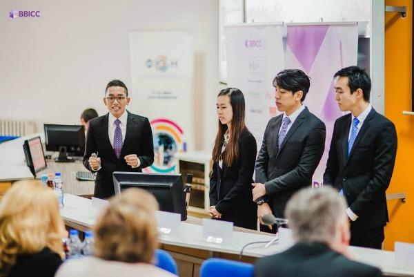 150  Studenti iz celog sveta rešavali poslovnu studiju slučaja kompanije Danubius