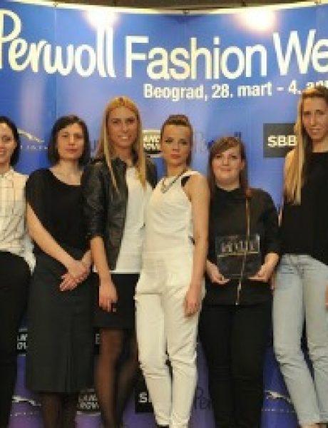 Svečana dodela nagrada povodom završetka 35. Perwoll Fashion Weeka
