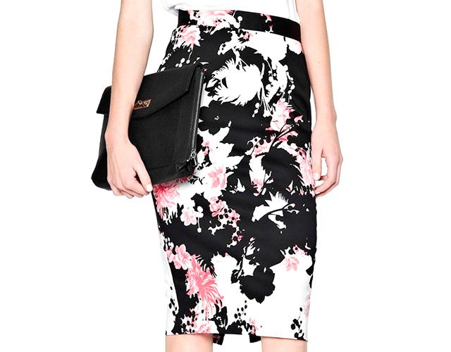 2 frenchconnection Novi trend: Pencil suknja sa printom