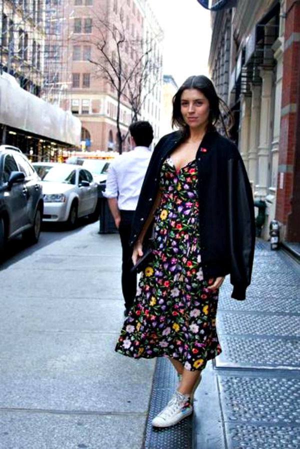 272 Street Style kombinacije: Caruju kombinezoni i cvetne haljine