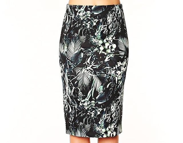 3 dynamite Novi trend: Pencil suknja sa printom