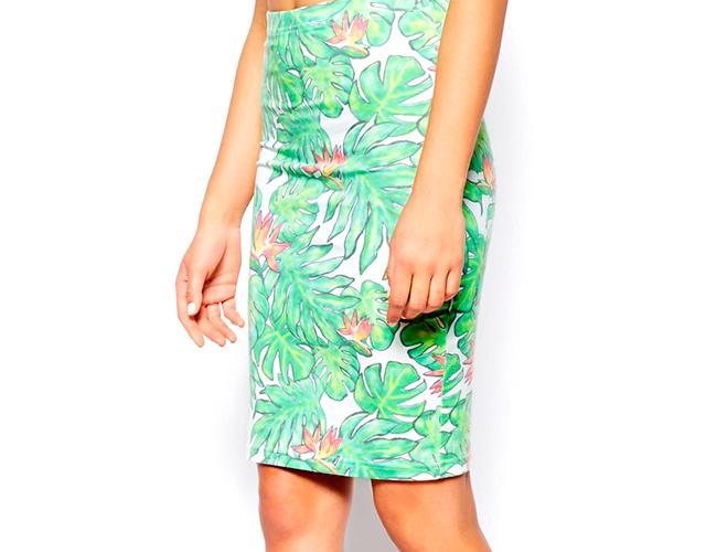 5 asos Novi trend: Pencil suknja sa printom