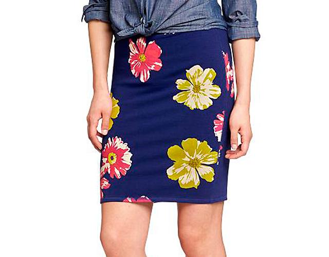 6 oldnavy Novi trend: Pencil suknja sa printom