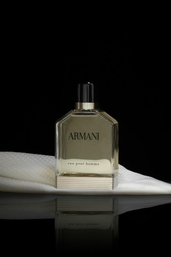 Armani eau pour homme1 Giorgio Armani: Novi muški miris Eau D'Arômes
