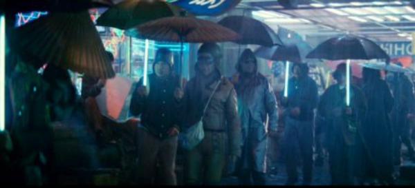 Blade Runner umbrella Top 10: Kišni momenti na filmskom platnu