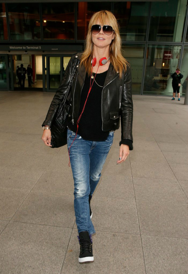 Hajdi Airport fashion report: Poznate dame putuju sa stilom