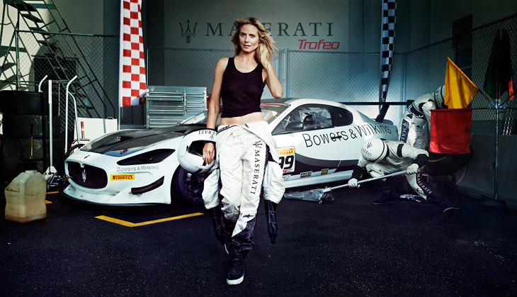 Heidi Klum Francesco Carrozzini Maserati 2014 01 Da li ste za brzu vožnju sa Hajdi Klum?