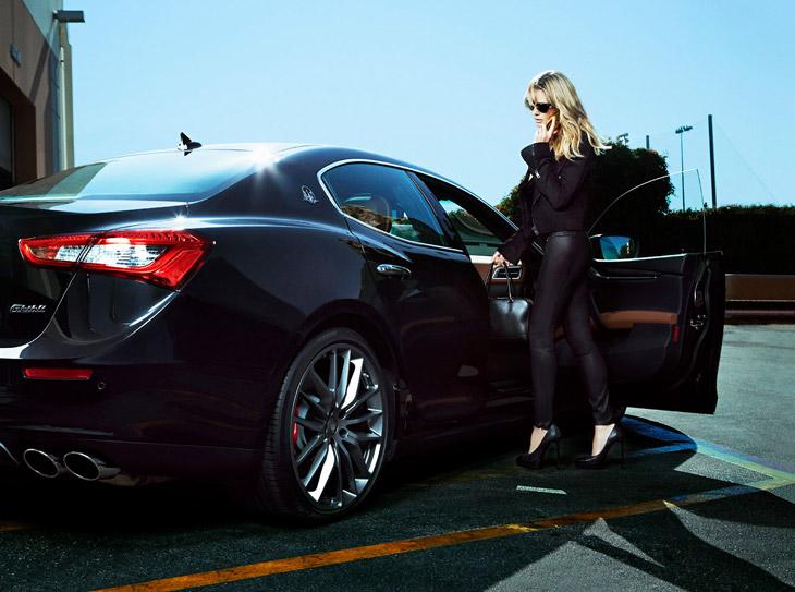Heidi Klum Francesco Carrozzini Maserati 2014 03 Da li ste za brzu vožnju sa Hajdi Klum?
