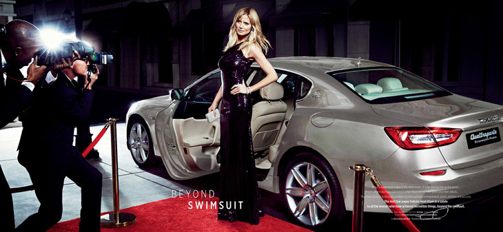 Heidi Klum Francesco Carrozzini Maserati 2014 05 Da li ste za brzu vožnju sa Hajdi Klum?
