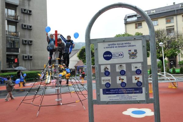Igralište NIVEA   stalo nam je gde nam rastu deca