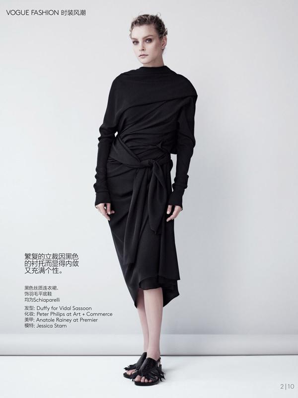 Jessica Stam Vogue China Collections Willy Vanderperre 02 Džesika Stem pozirala za kineski Vogue